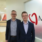 Dr Rob Gooley and Dr Liam McCormick