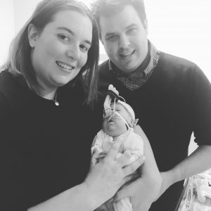 Miller Family in the NICU